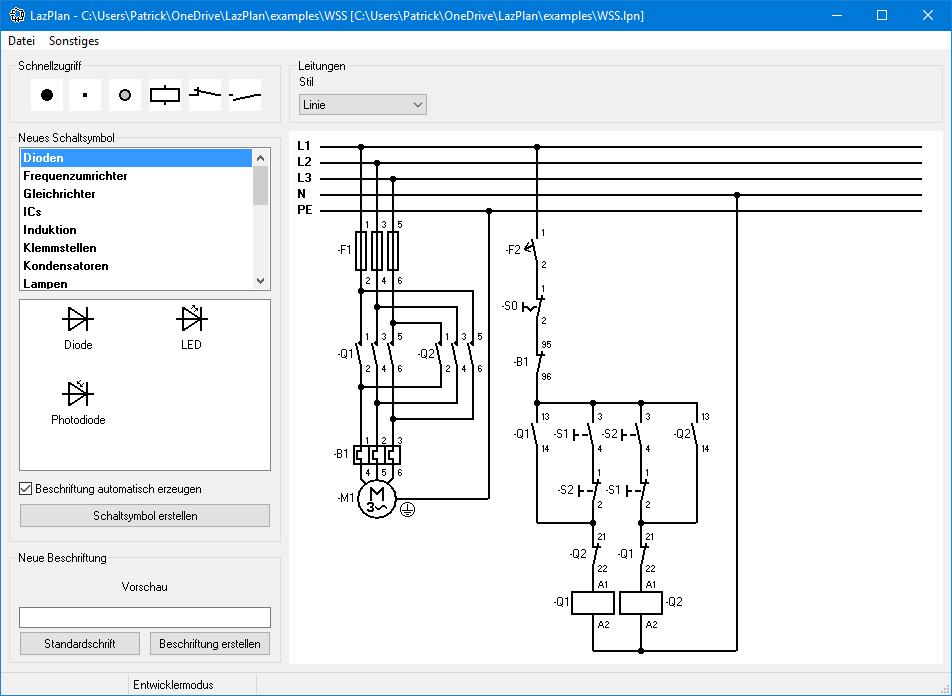 Nett Einfache Schaltplansoftware Ideen - Elektrische Schaltplan ...